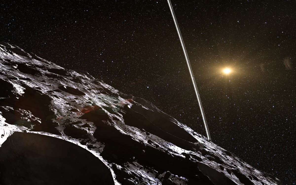 Is Chiron an Asteroid, a Comet, or a Trapped Kuiper Belt Object?