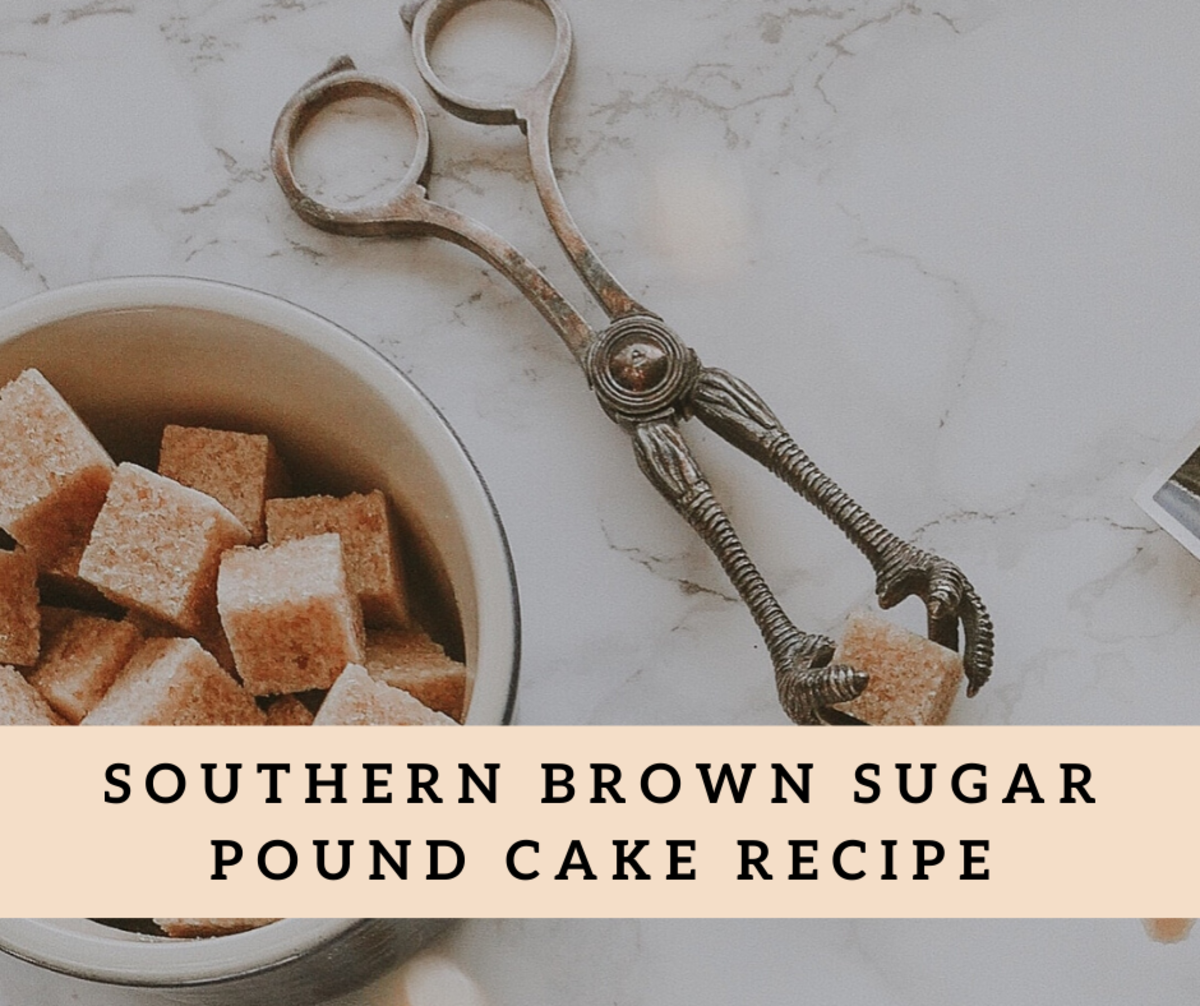 This pound cake recipe is truly delicious.