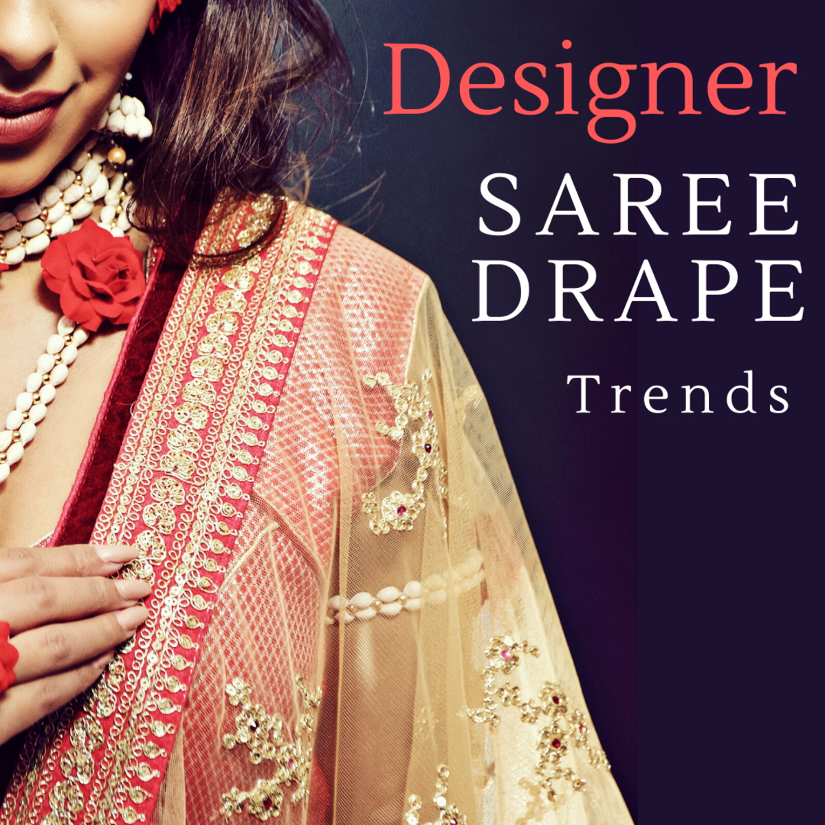 Designer Saree Drapes