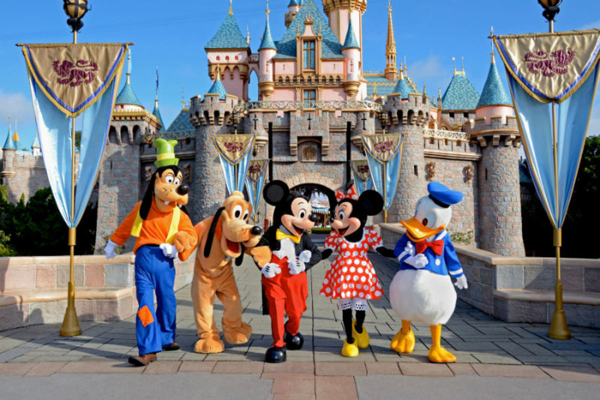 Disneyland California is one of the world's biggest tourist attractions.