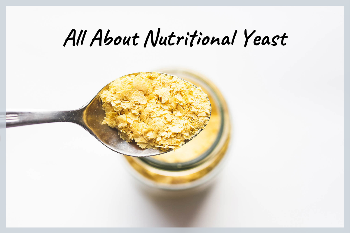 Nutritional yeast is packed with B vitamins!