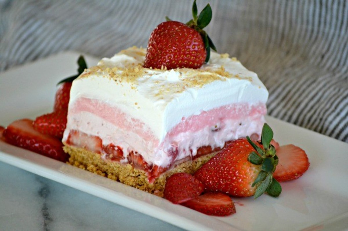 Strawberry Dessert Recipes for a Garden Party