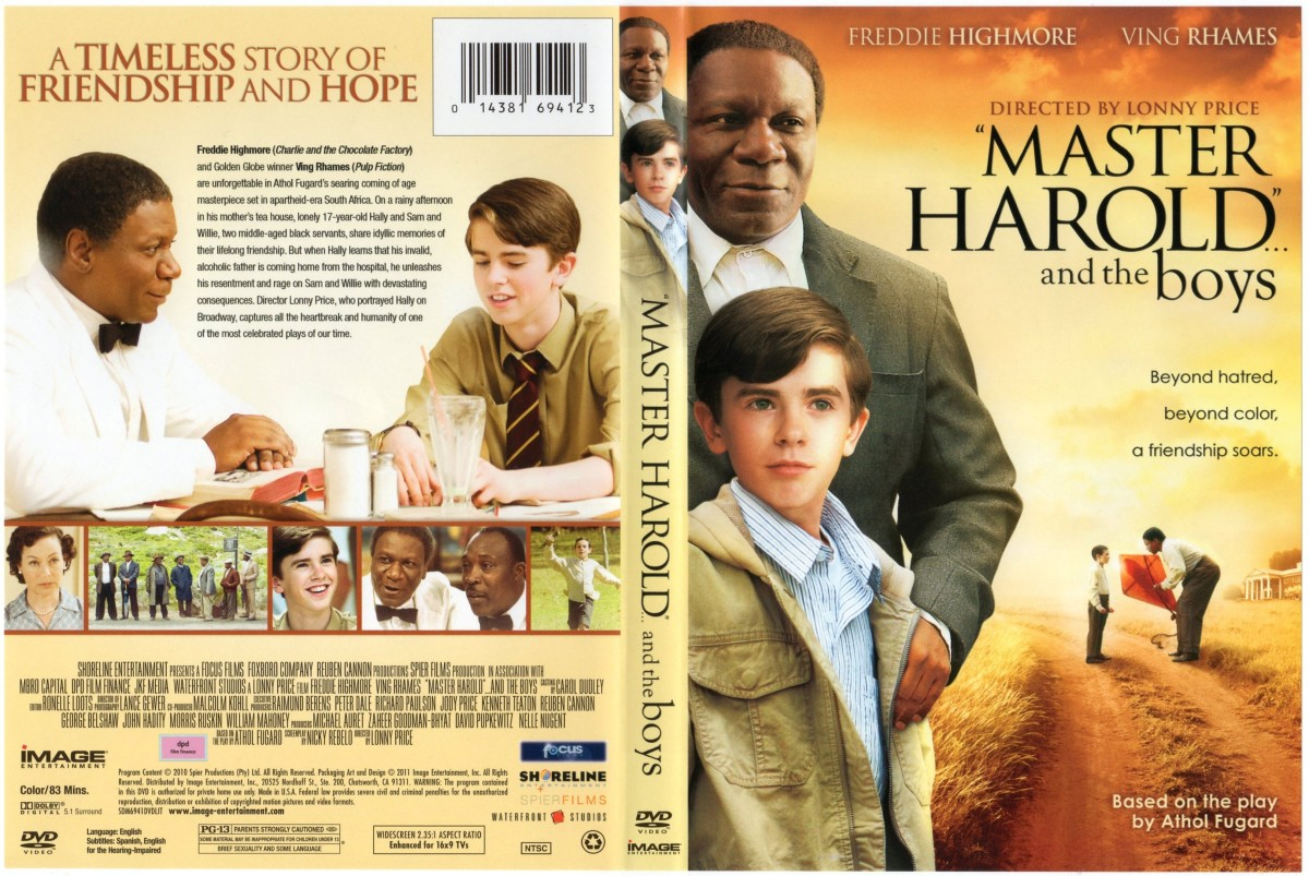 Master Harold and the boys book cover