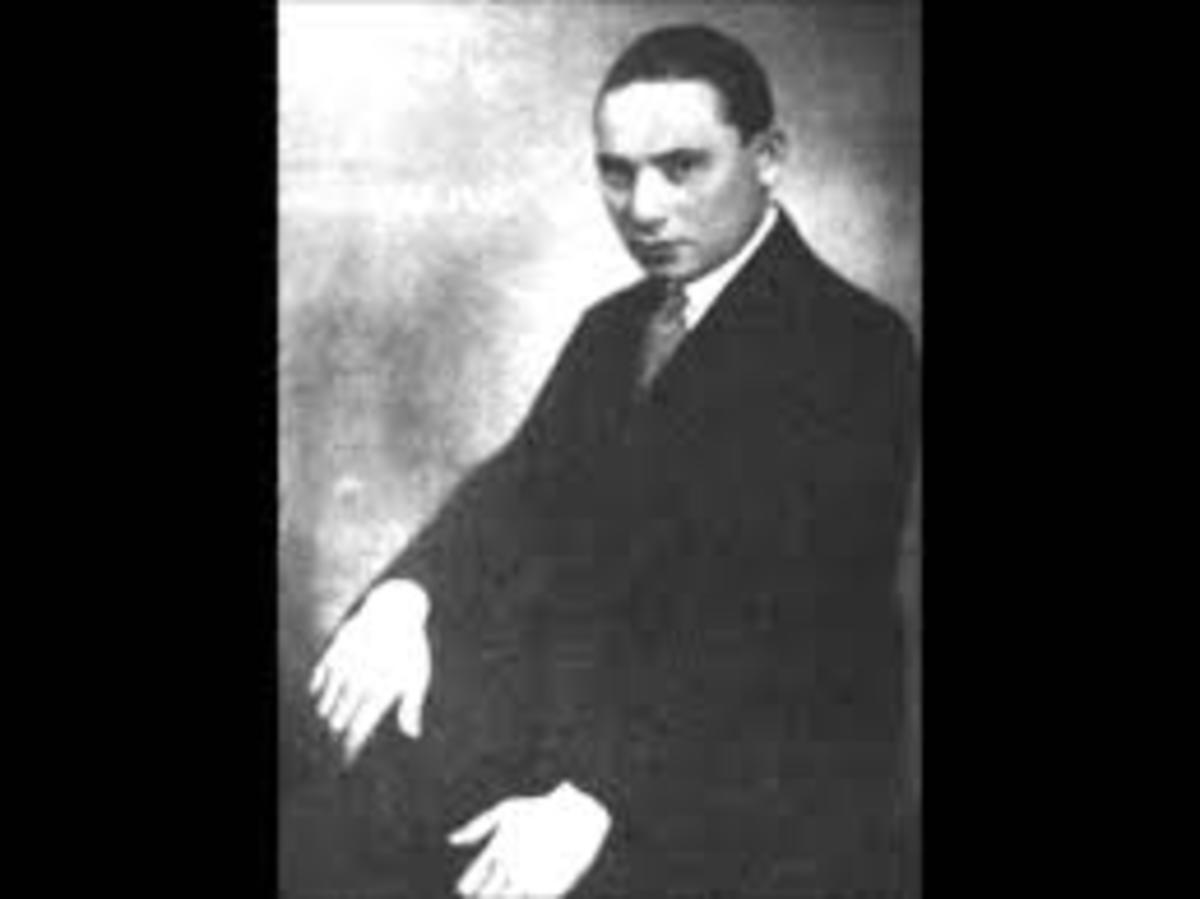 Picture of song composer Rezso Seress
