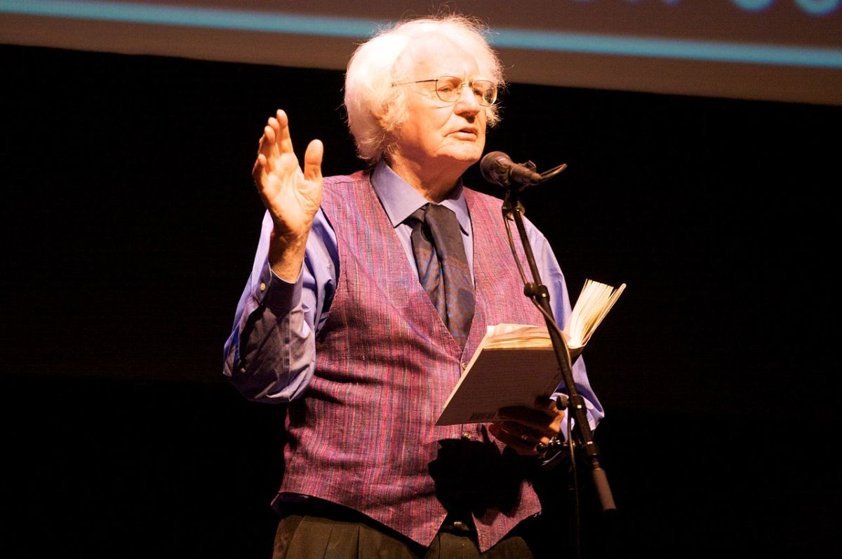 Robert Bly - Poetry Out Loud Minnesota Finals at the Fitzgerald Theater, 2009