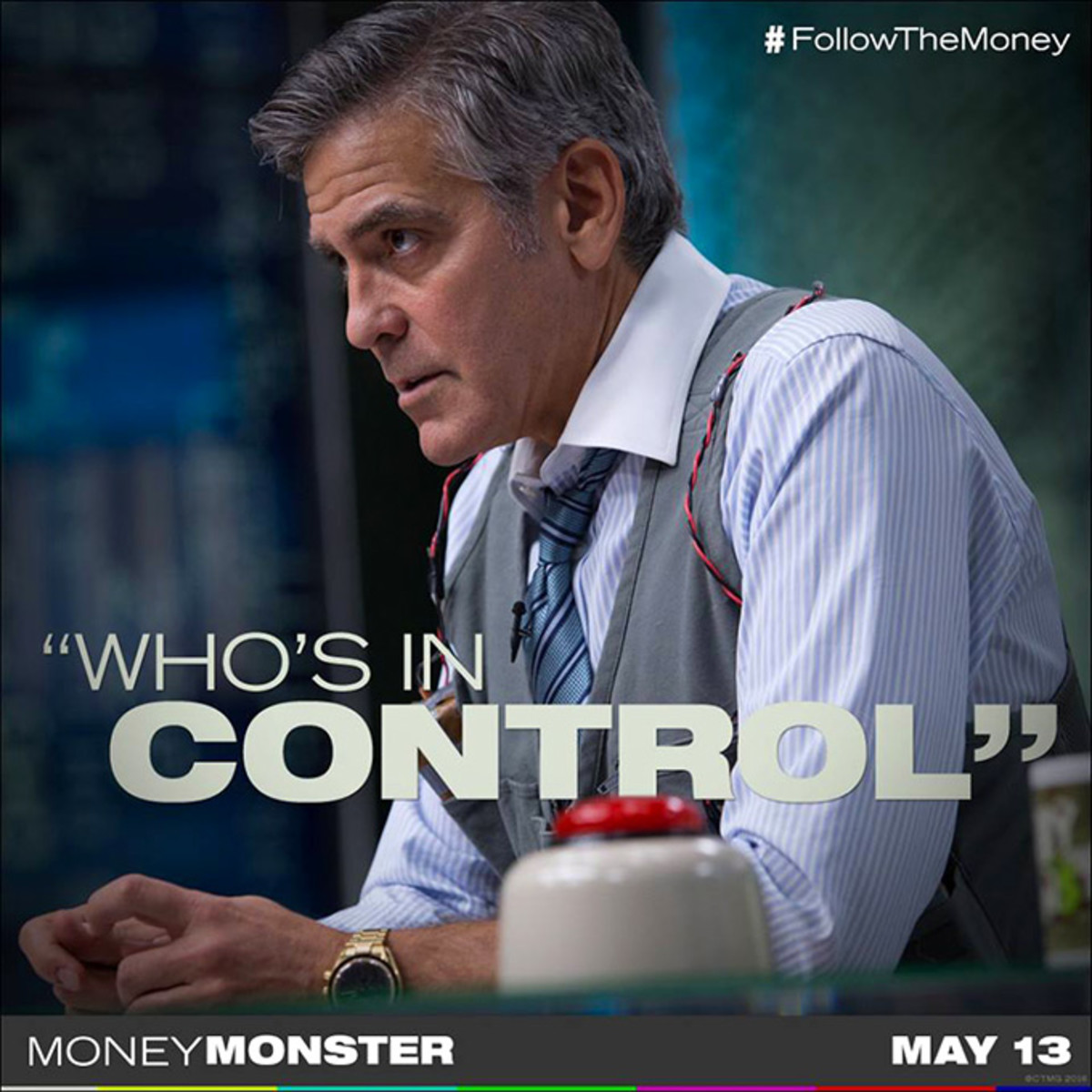 "The Buck Stops Here : ""Money Monster"" (2016) Movie Review"