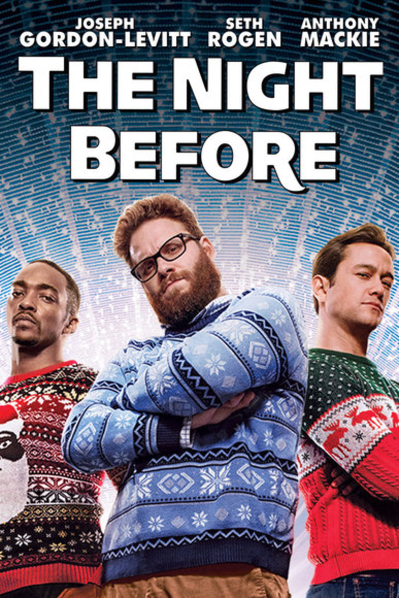 """The Night Before"" Is not quite the Christmas film you are used to seeing"