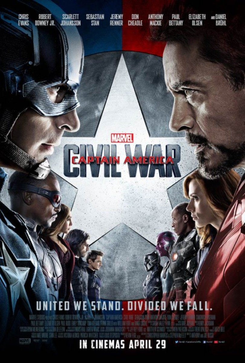 New Review: Captain America: Civil War (2016)