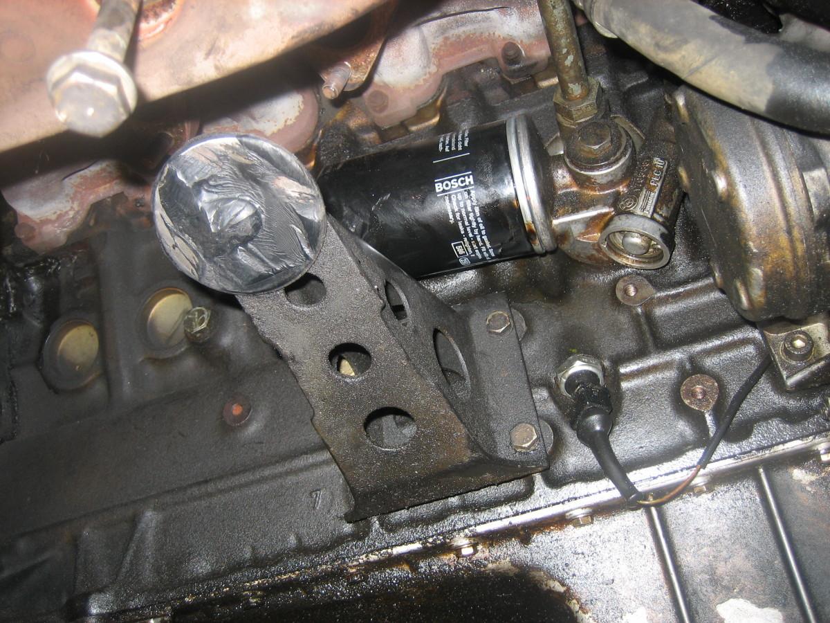 Oil Pan Gasket Replacement Axleaddict Buick 3 1 Engine Diagram Intake