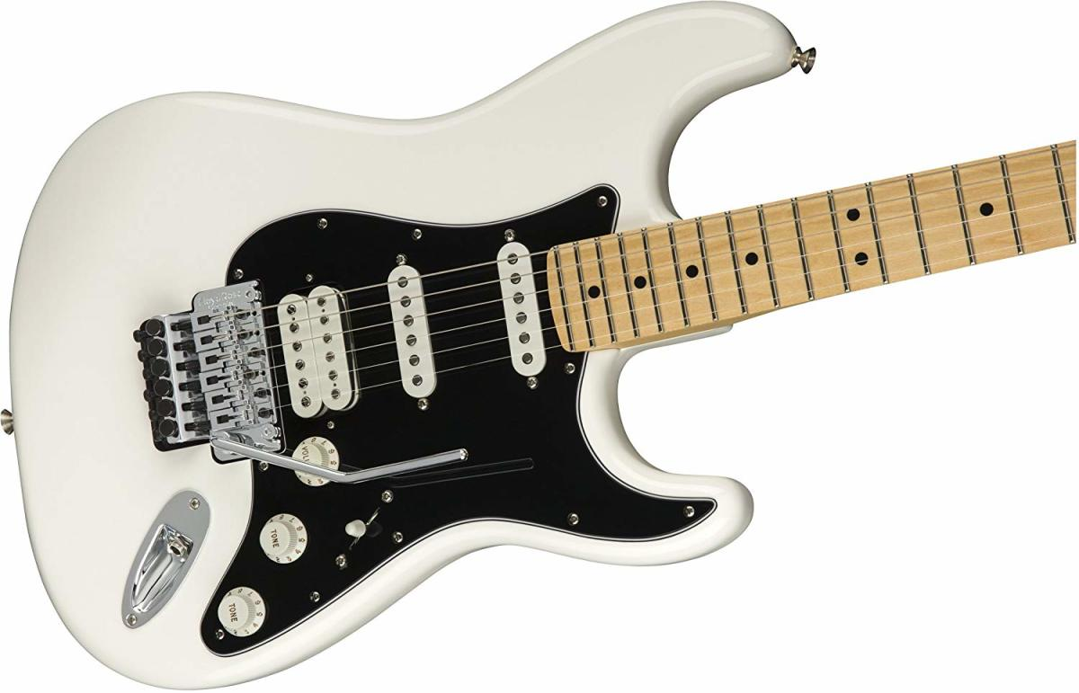 Fender's Player HSS Stratocaster with a Floyd Rose  is a great choice for metal.