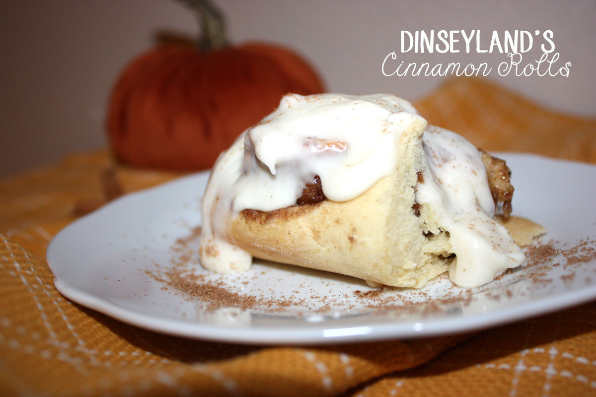 Disneyland's Cinnamon Rolls
