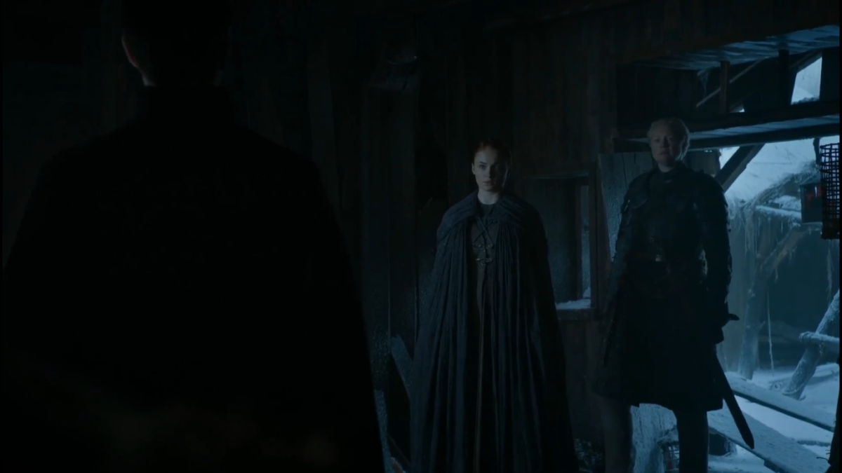 Oh, you thought you'd meet alone with Sansa, Littlefinger?