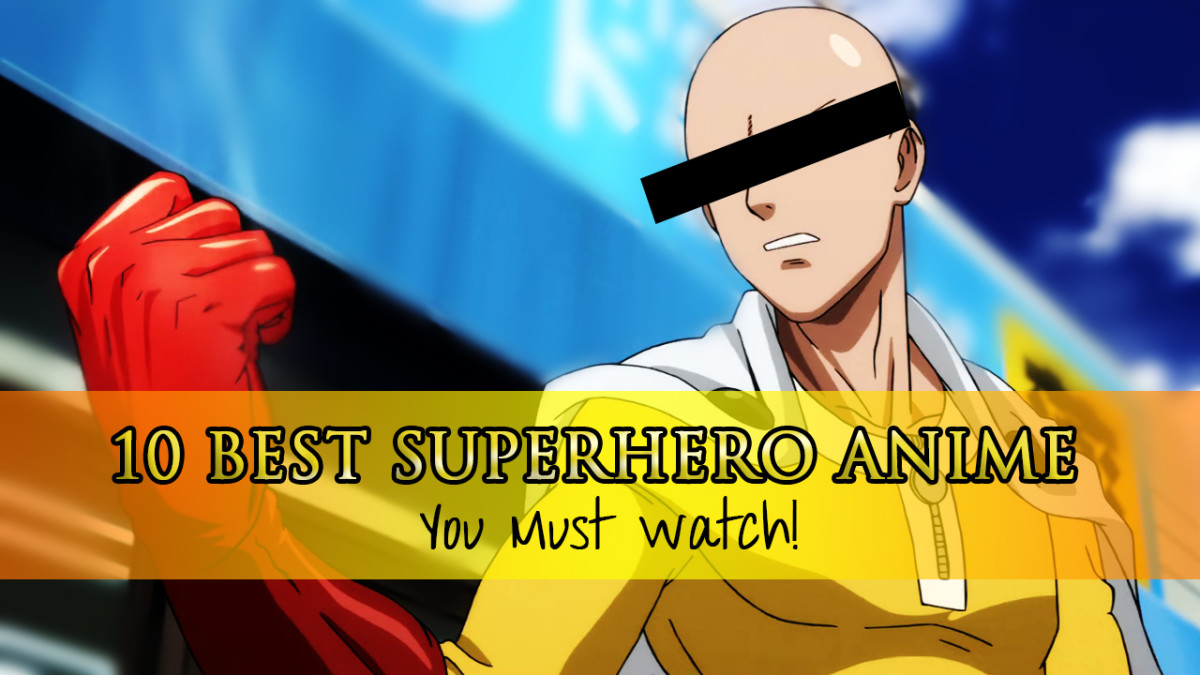 10 Best Superhero Anime