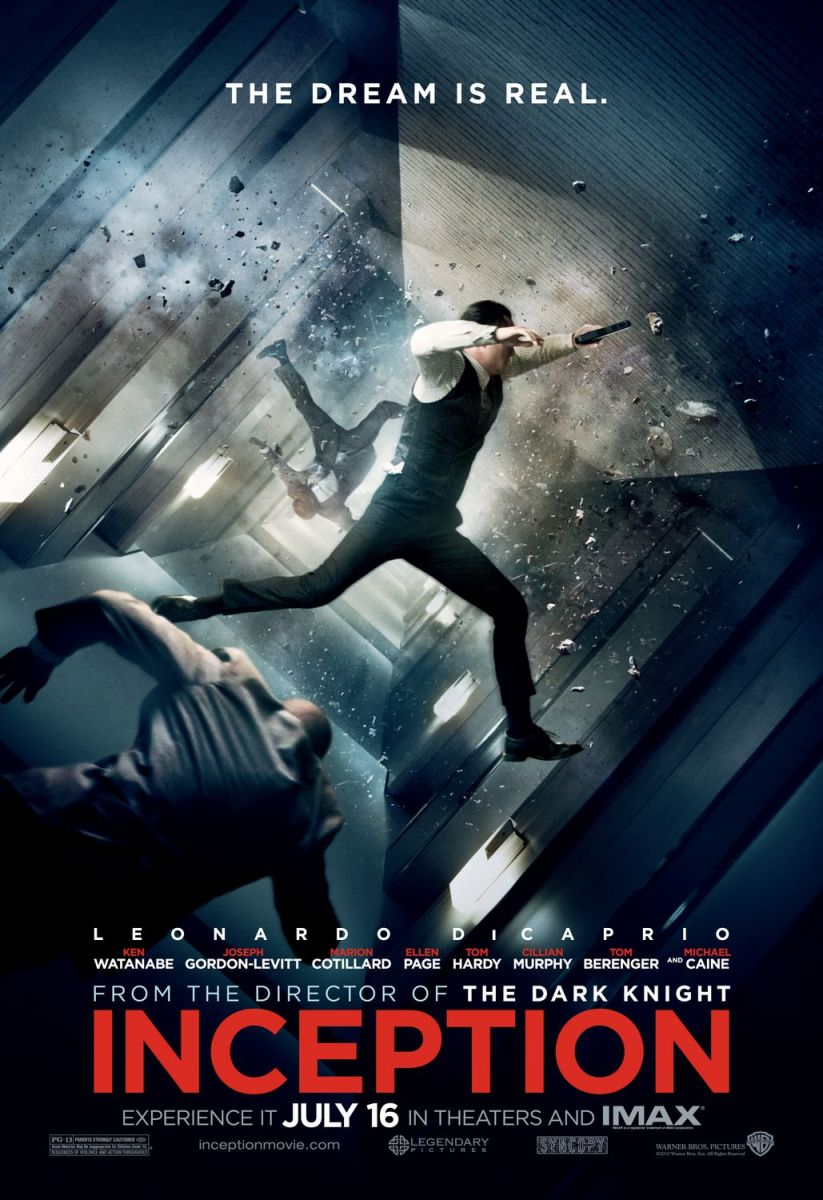 """Poster for """"Inception"""""""
