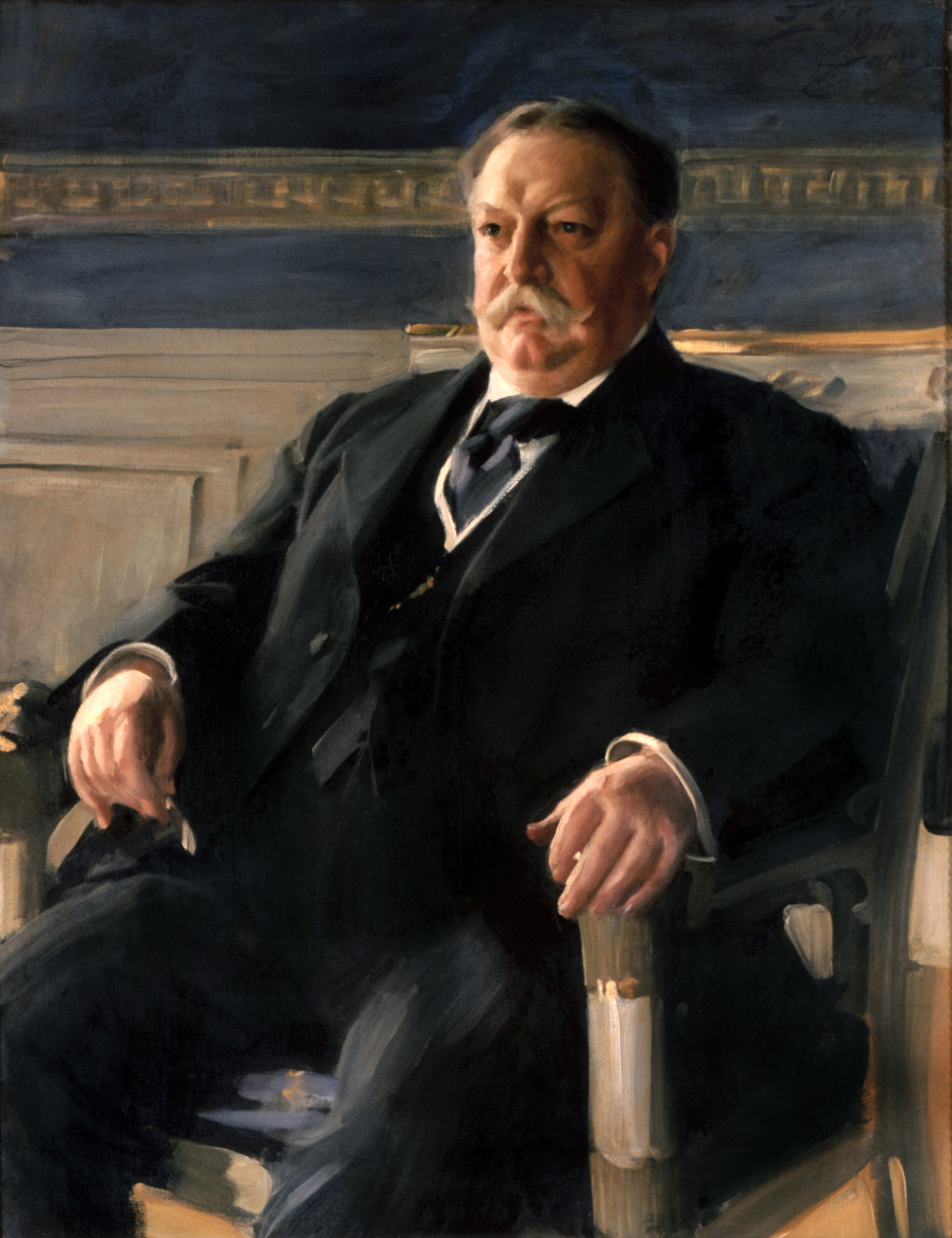 William Taft: 27th President: Highest Judicial & Executive Office