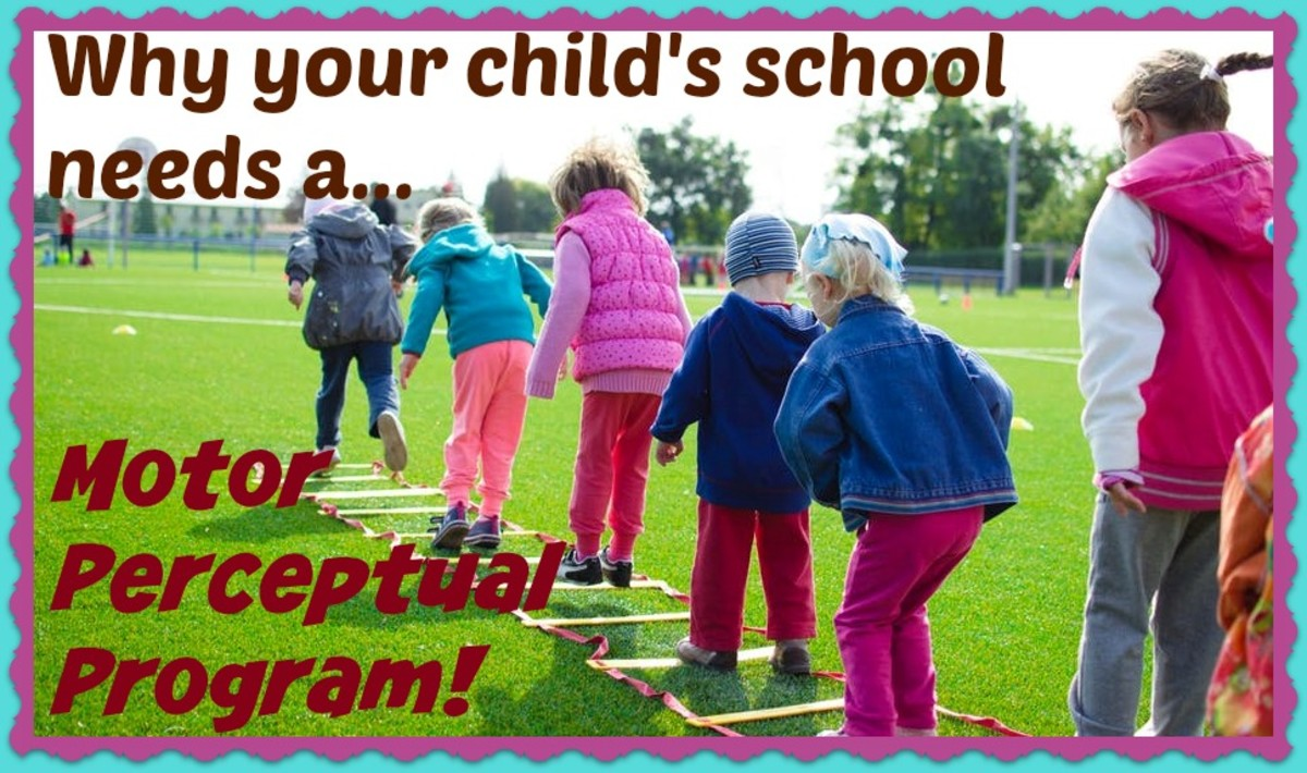 Why Your Child's School Should Have a Perceptual-Motor Program