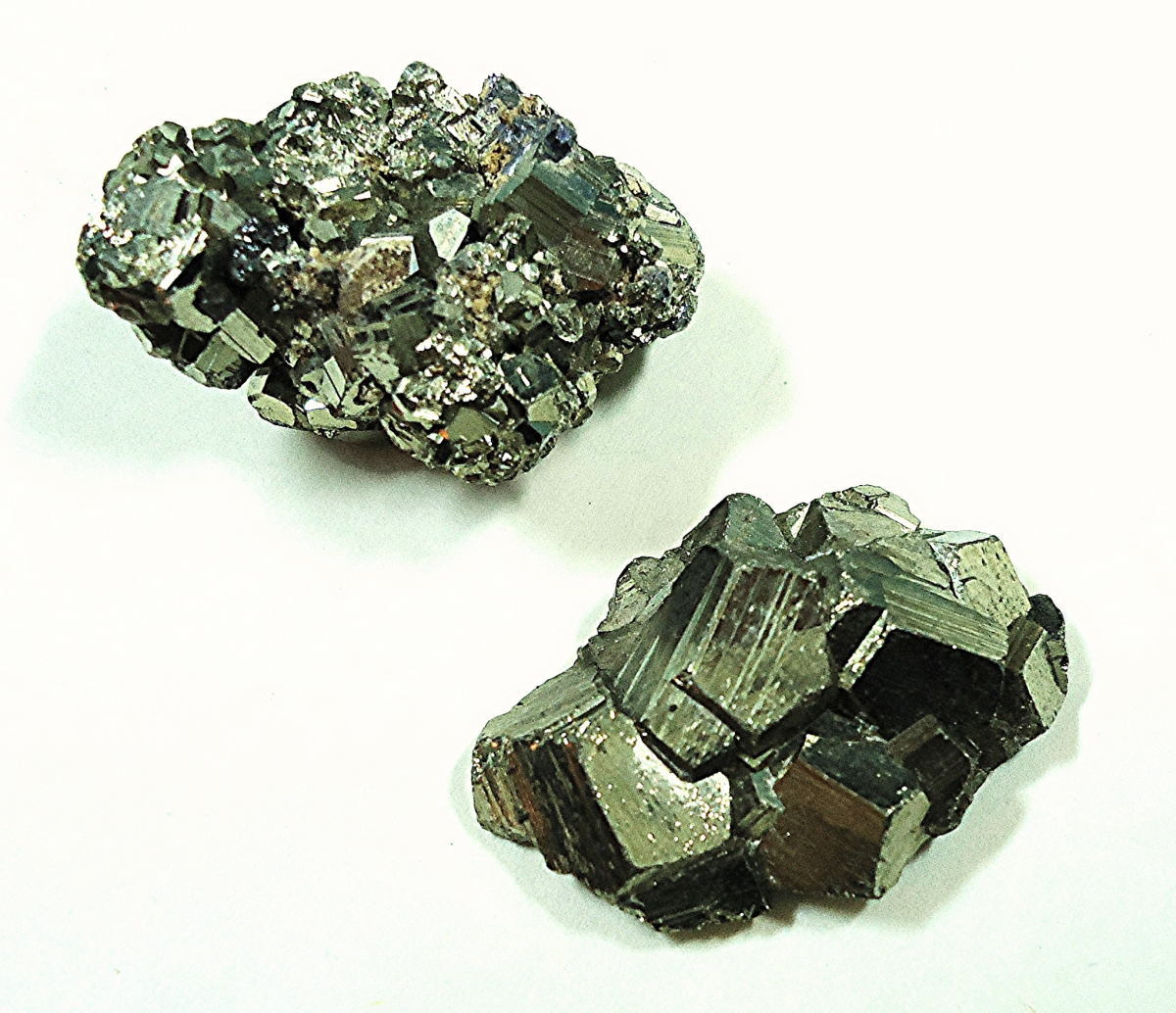 Pyrite (also known as fool's gold) is considered a lucky stone to have.