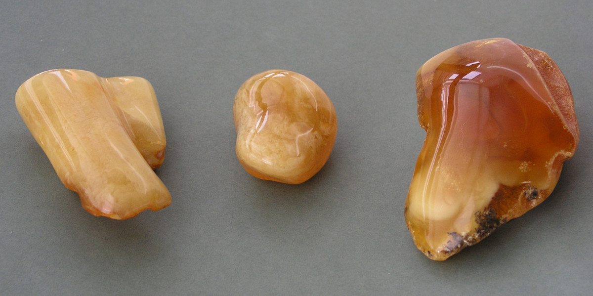 Amber is other used to help soothing teething pain.