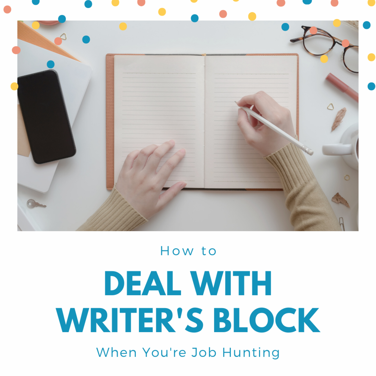 Learn how to overcome writer's block while looking for a job.