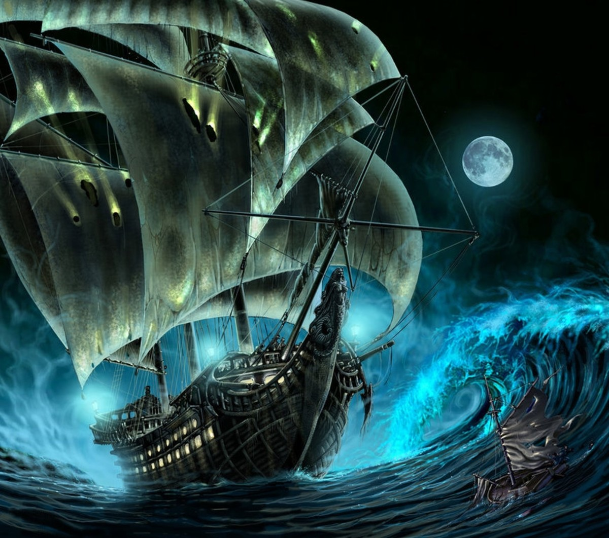Mysteries and Ghost Ships at Sea