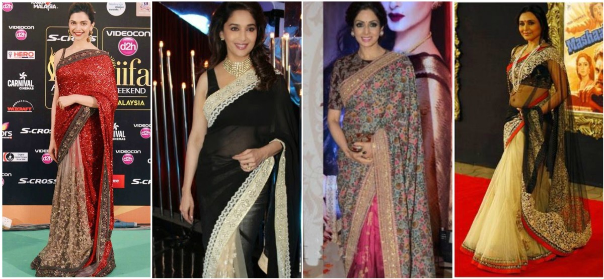 Half And Half Sarees: Every Btown Diva's First Choice
