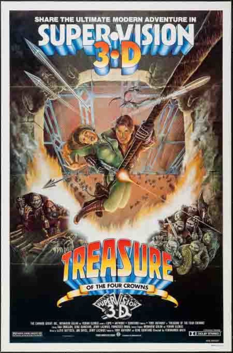 Treasure of the Four Crowns theatrical poster