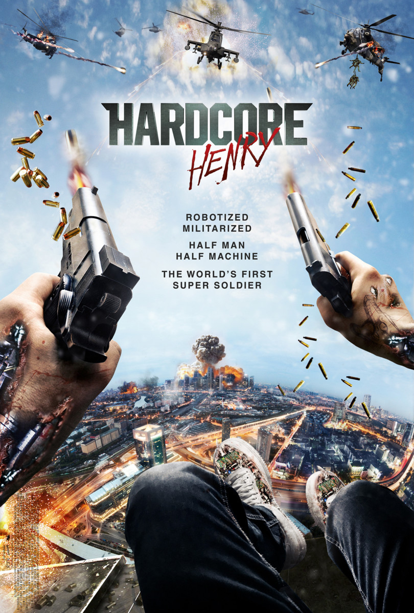 'Hardcore Henry' Is a Testosterone-Infused Thrill Ride That Doesn't Stop!