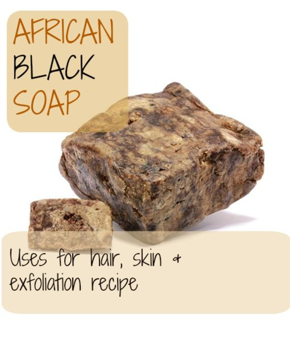 How to Make Black African Soap and Exfoliation Recipe