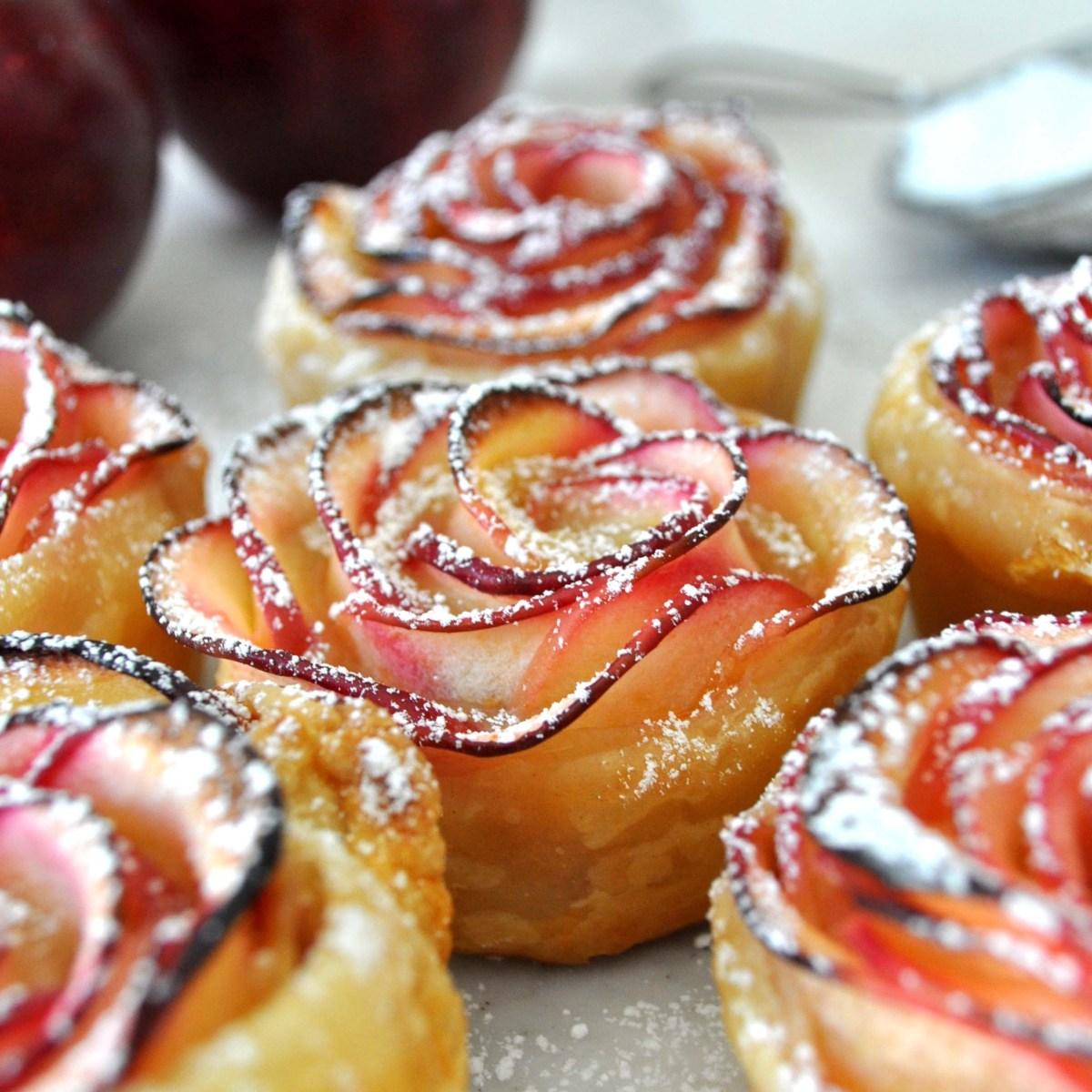 Dessert - Apple Roses