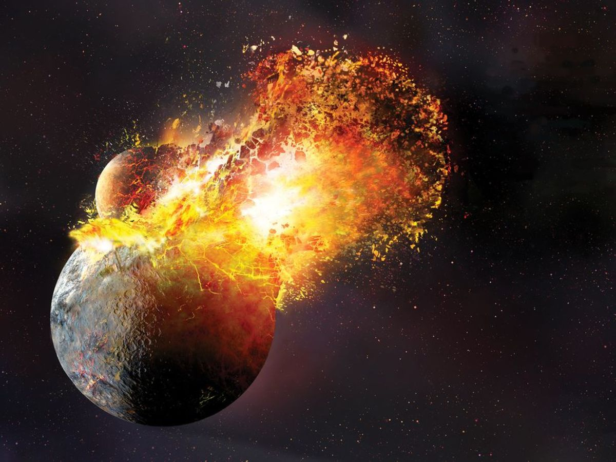 The Formation of the Moon, or How Did That Get There? | Owlcation