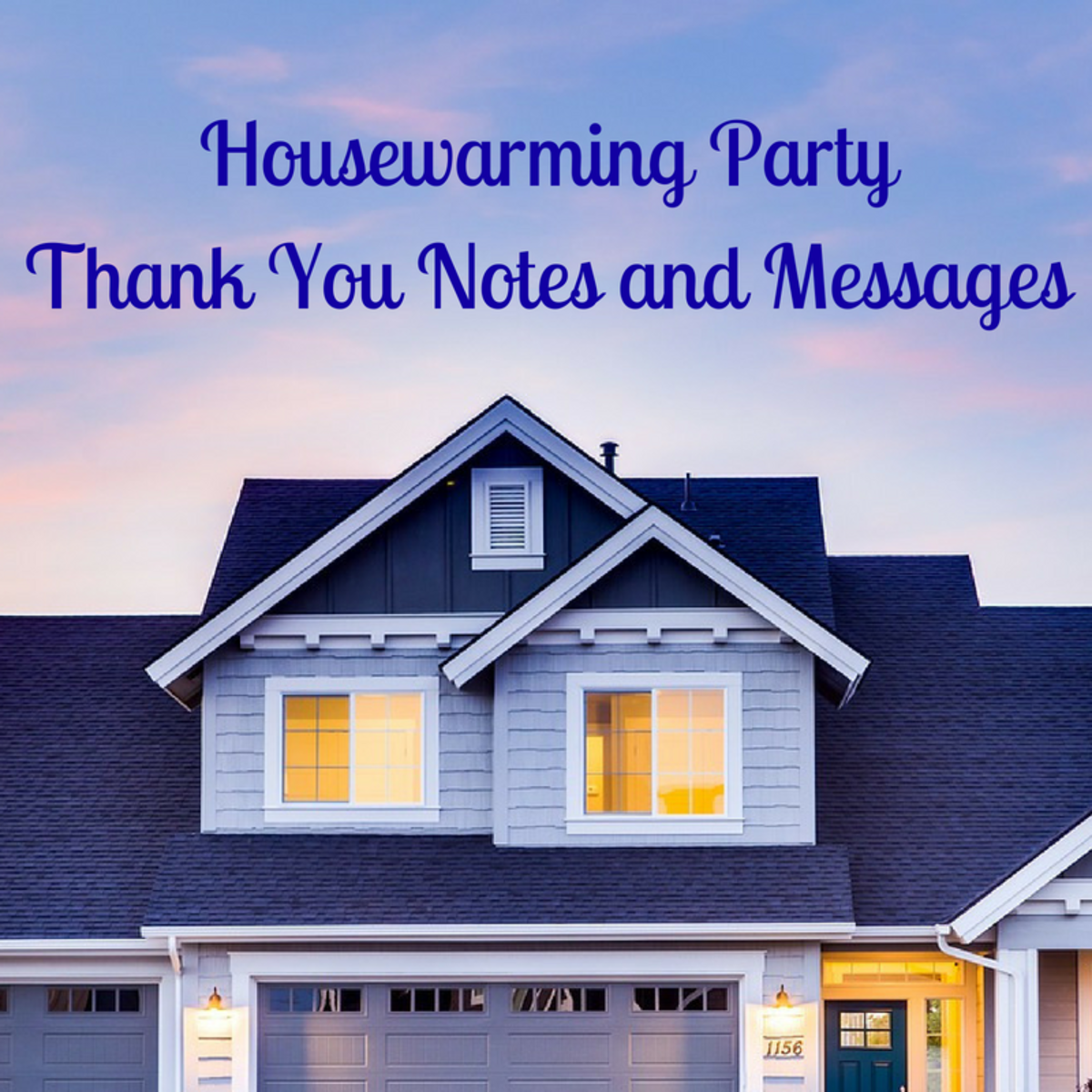 Housewarming Party Thank You Notes