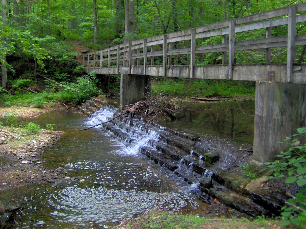 Bridge Over Mill Creek in Standing Stone State Park