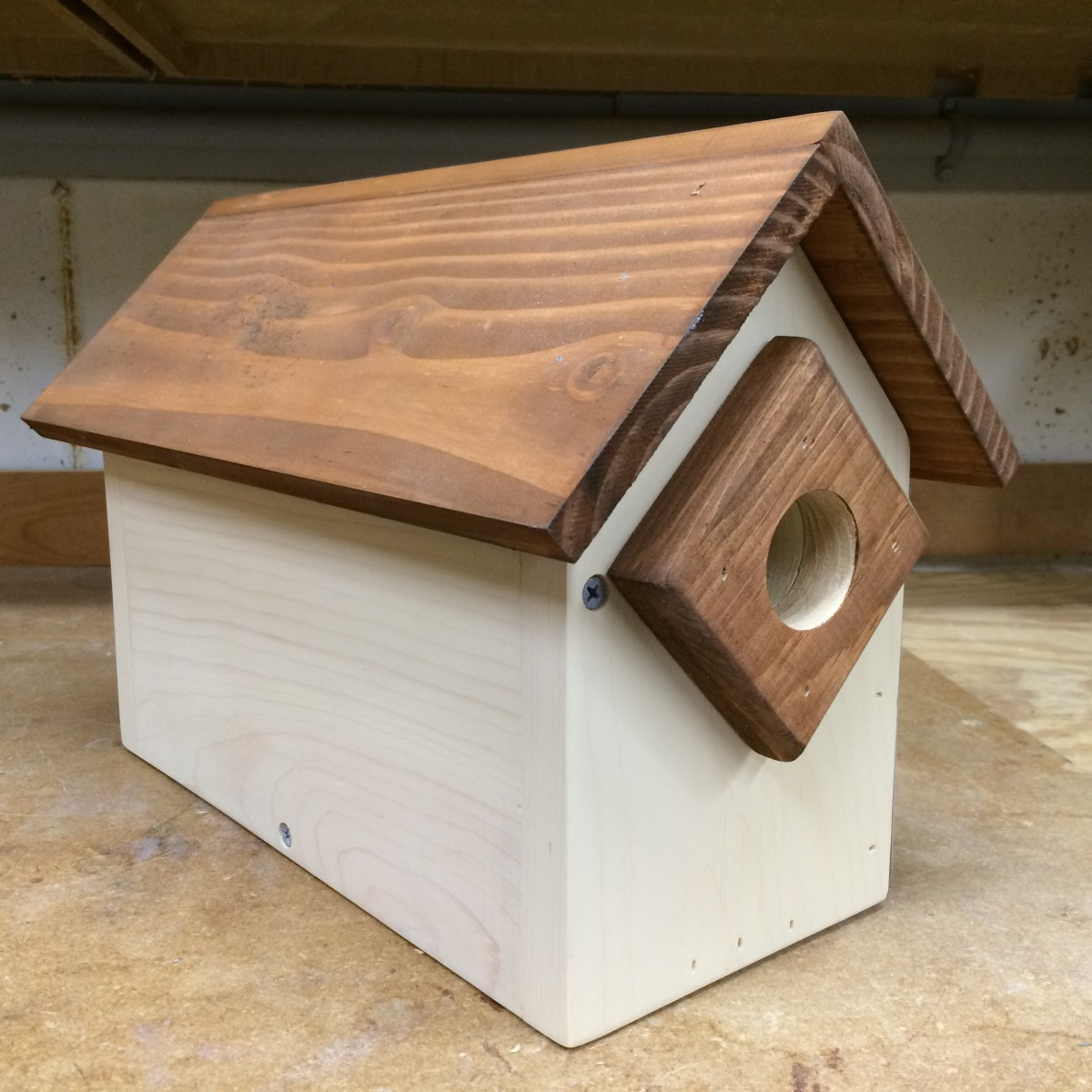 How to Build a Duplex Condo Birdhouse | FeltMagnet Whimsical Birdhouse Designs Free Html on
