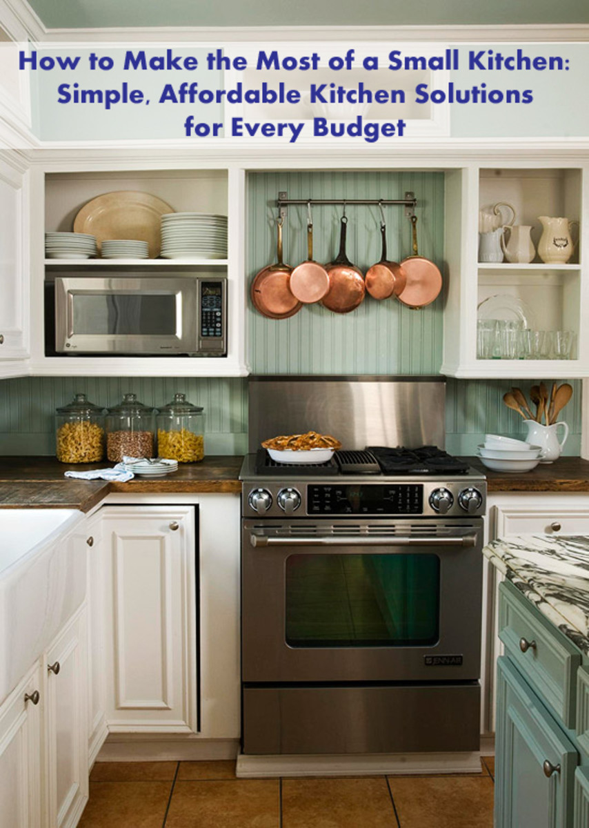 how to make the most of a small kitchen: simple, affordable