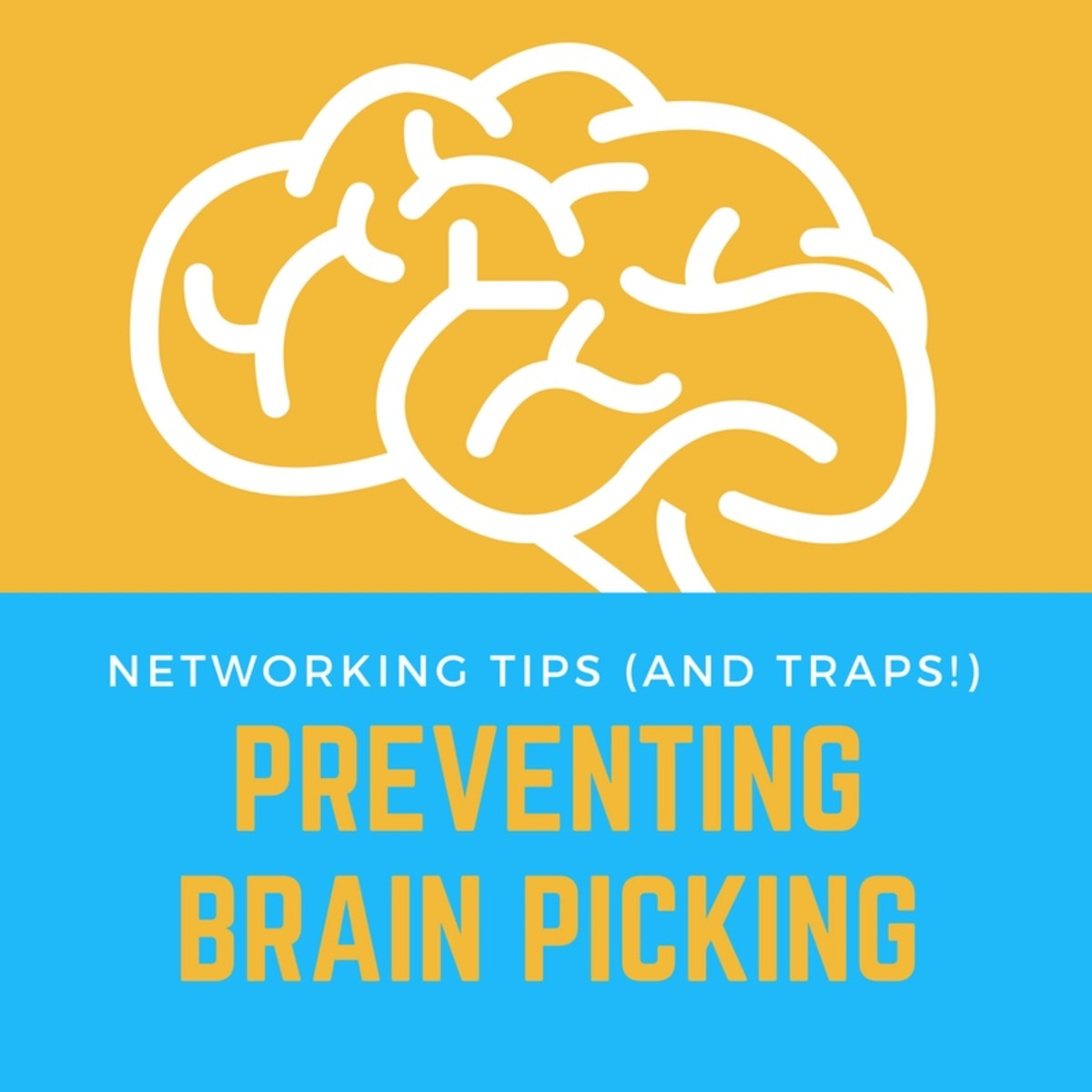 Get some advice about avoiding traps during networking events.