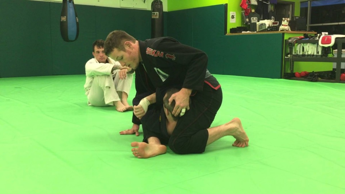 How to Establish S-Mount: A BJJ Tutorial