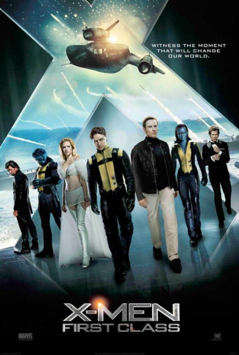"Promotional poster for ""X-Men: First Class"""
