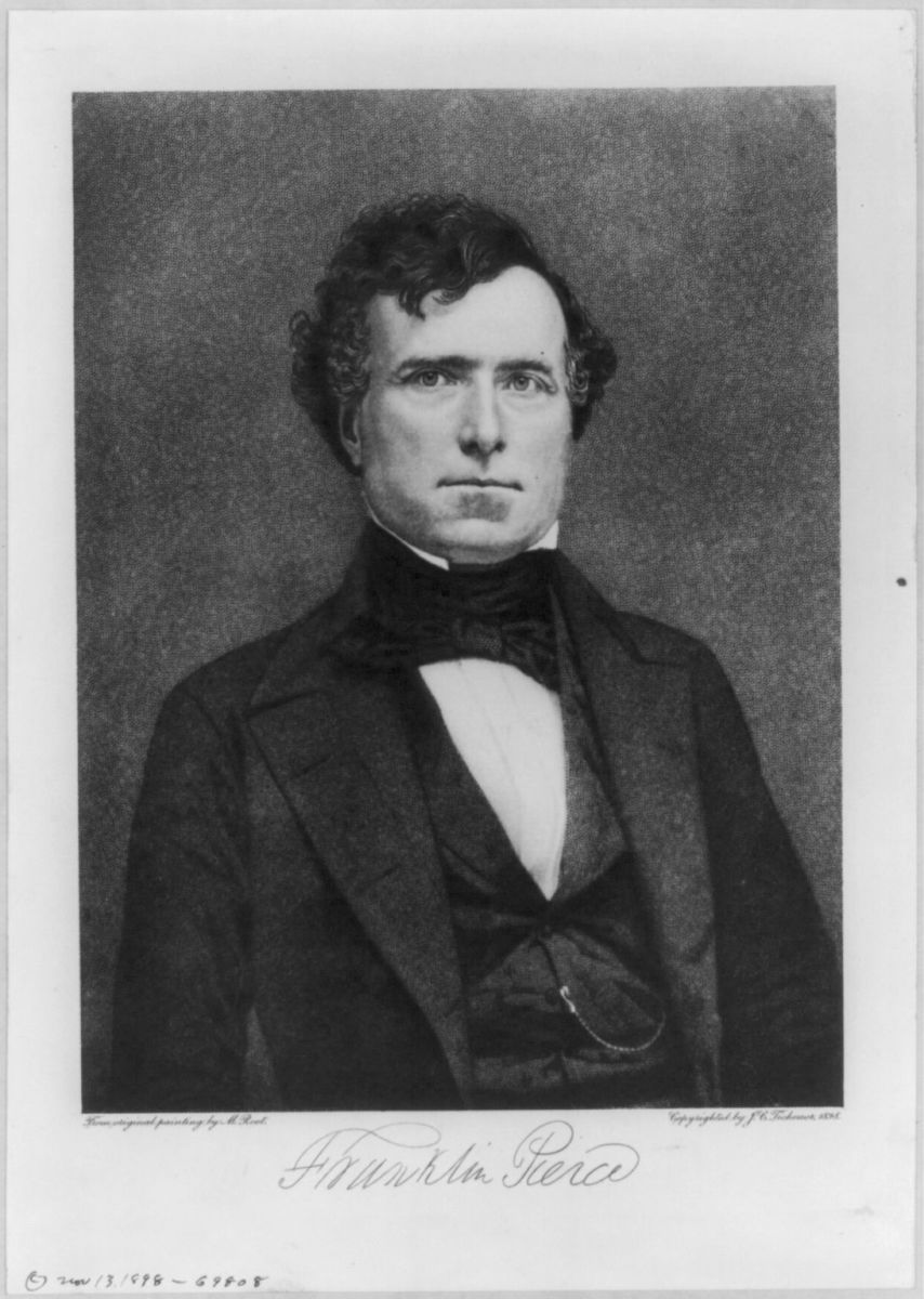 Franklin Pierce: 14th President: Pro-Slavery