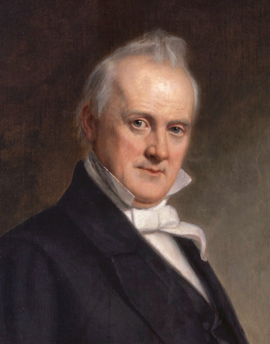 James Buchanan: 15th President: Neutral During Eve of Rebellion