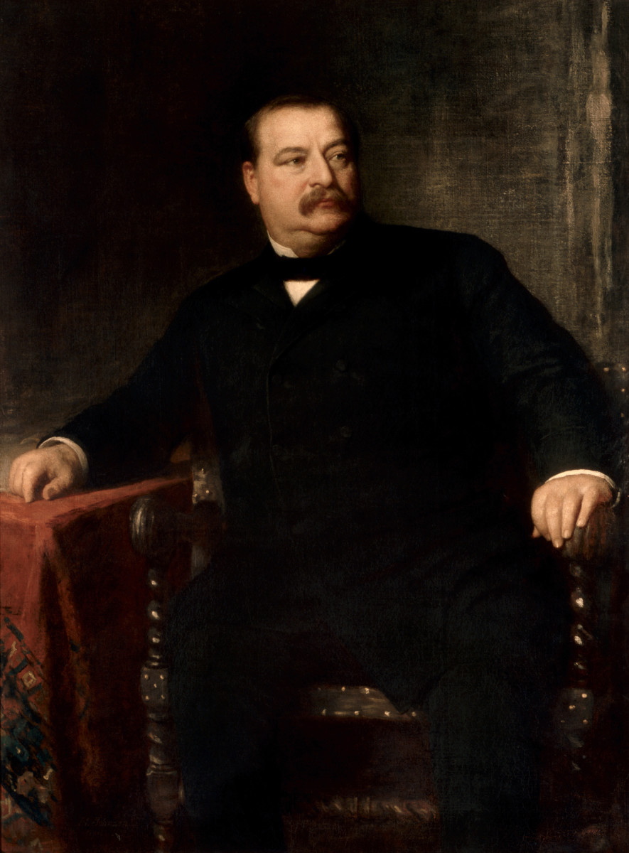 Grover Cleveland: 22nd and 24th President: Served Twice