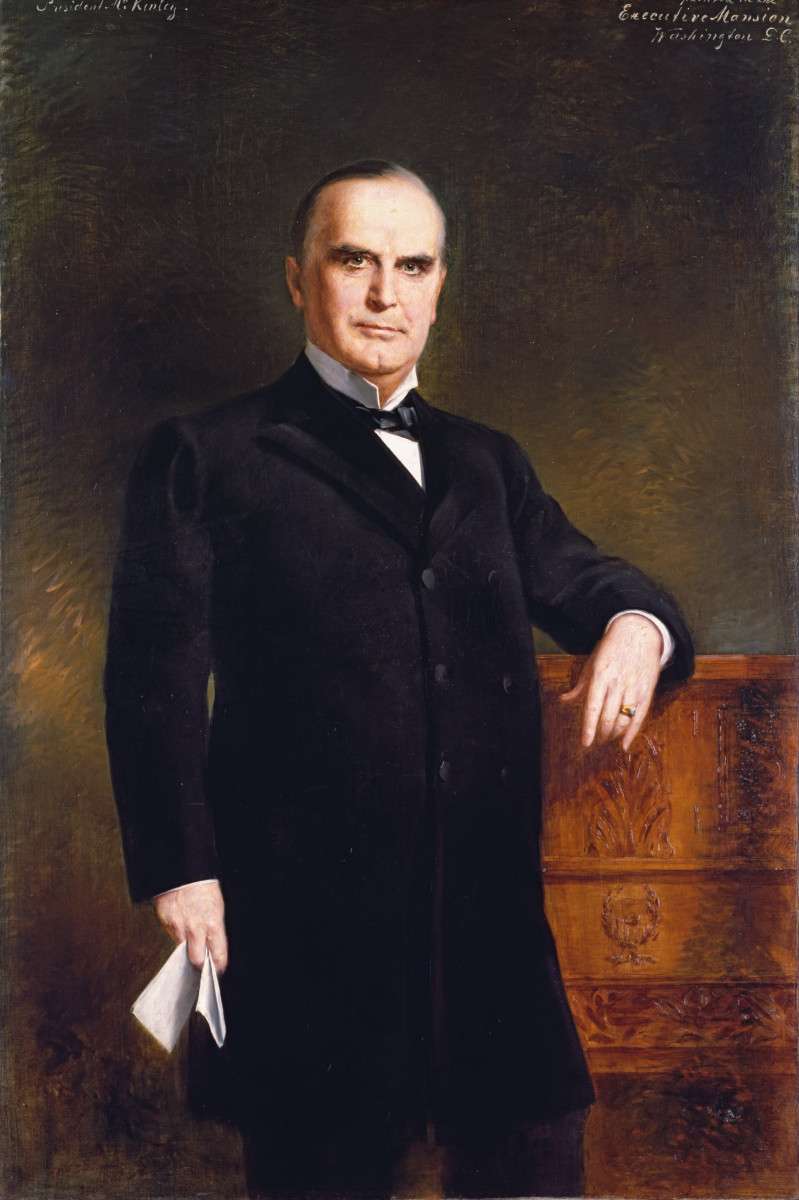 William McKinley: 25th President: Assassinated While in Office
