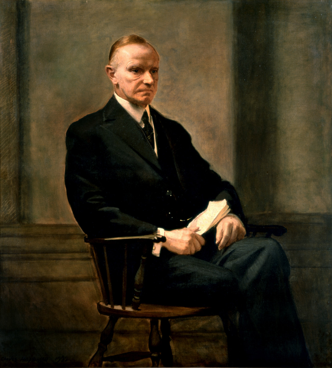 #30. Calvin Coolidge