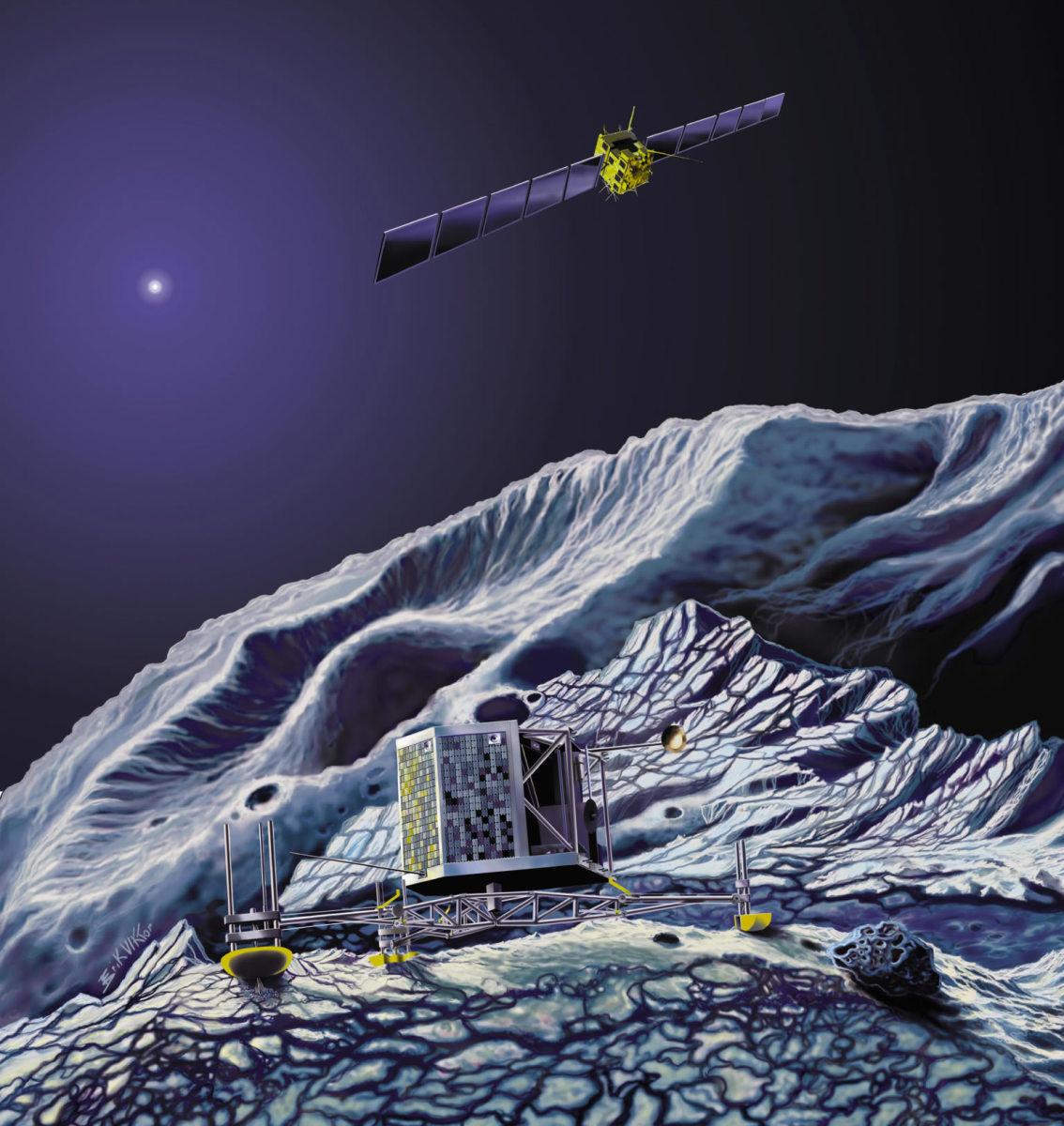 What Was The Rosetta Space Probe? The Mission to Land Philae on Comet 67P/Churyumov-Gerasimenko