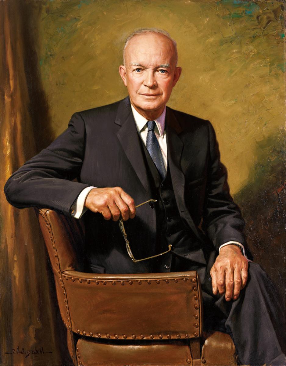 Dwight D. Eisenhower: 34th President: An Avid Painter