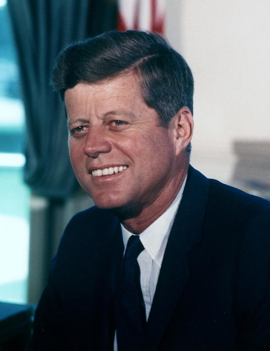 John F. Kennedy: 35th President: Earned the Purple Heart