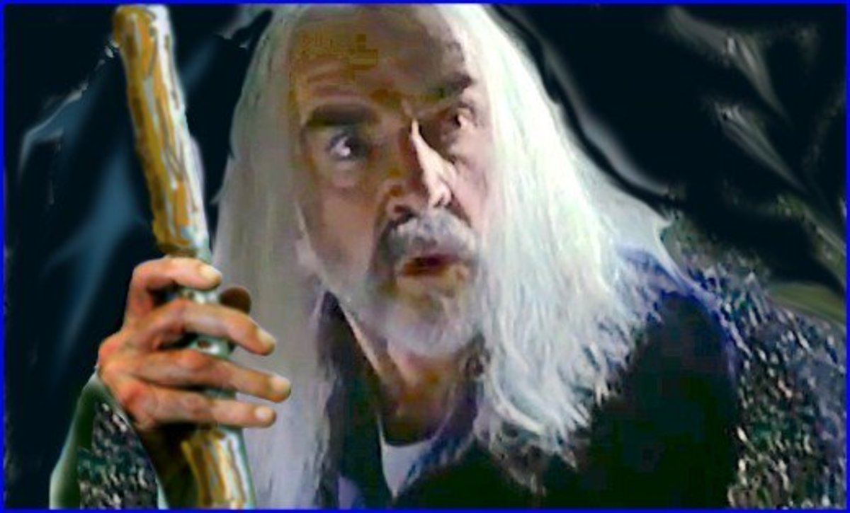 Sean Connery was offered the role of Gandalf in the Lord of the Rings trilogy and turned it down, saying he didn't understand the part.  Experts say he could have made nearly one-half billion dollars had he signed to play the wizard.