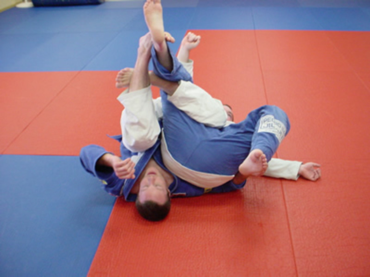 How to Ninja Roll in Brazilian Jiu-Jitsu
