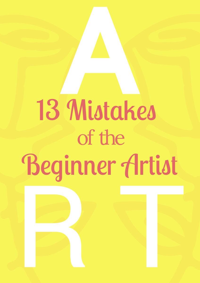Most beginners make the same mistakes, and for some reason they can be picked up also by the non-artist. Here is a list of the most common things to avoid, so that artwork is not seen as mediocre.