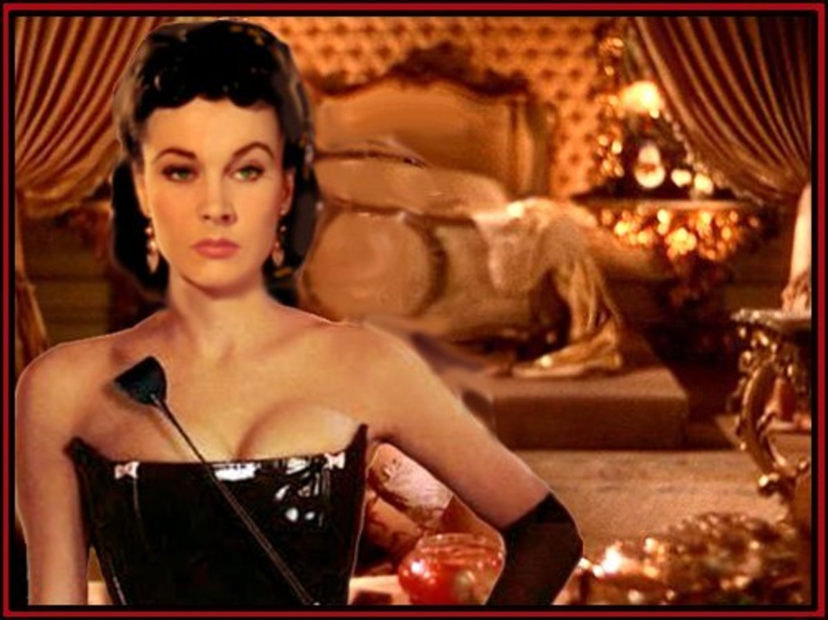 Vivien Leigh was chasing a married man in Gone with the Wind.  Although she never landed in bed with Ashley Wilkes in the movie, off-screen she carried on many torrid love affairs.