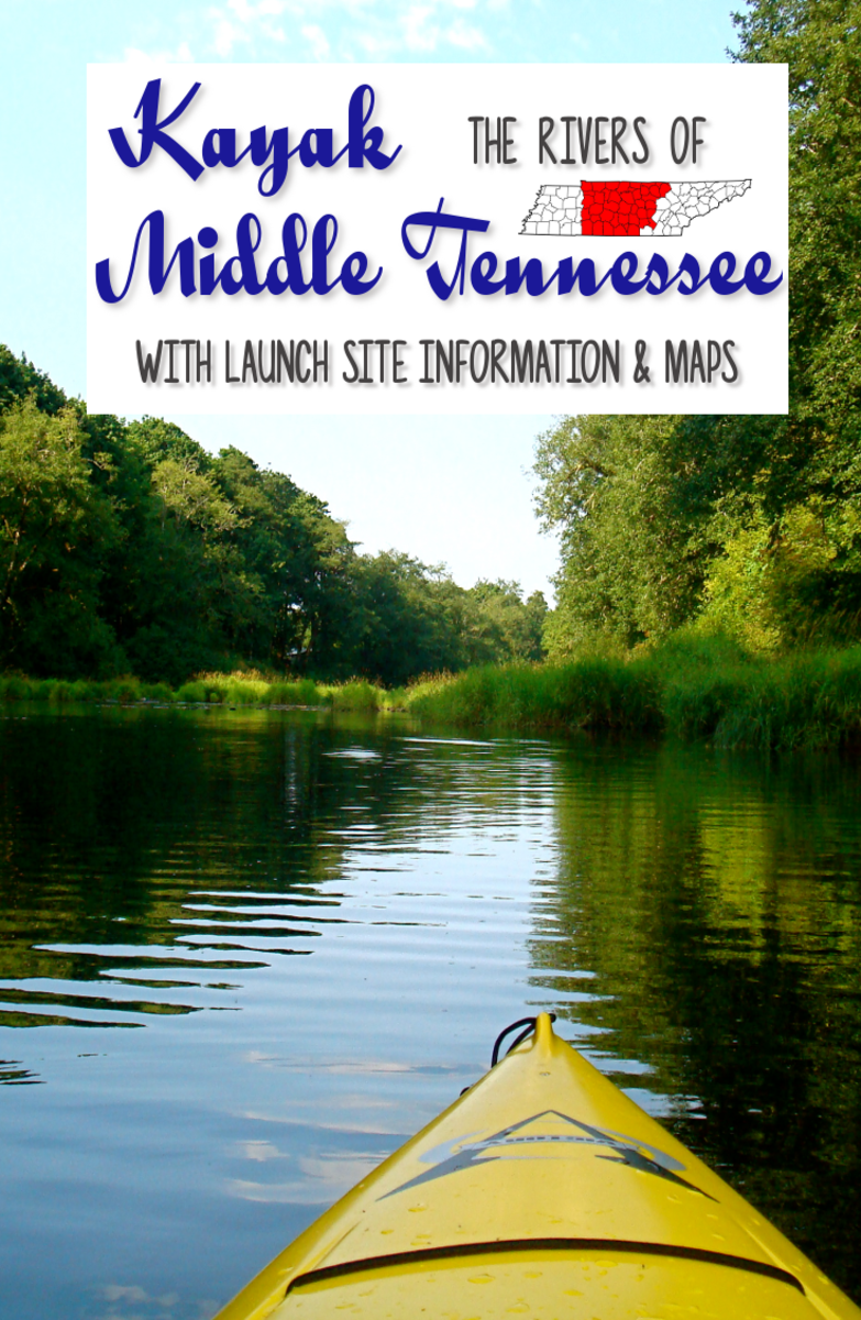 10 Middle Tennessee Rivers You Want to Kayak with Launch Sites Information and Maps